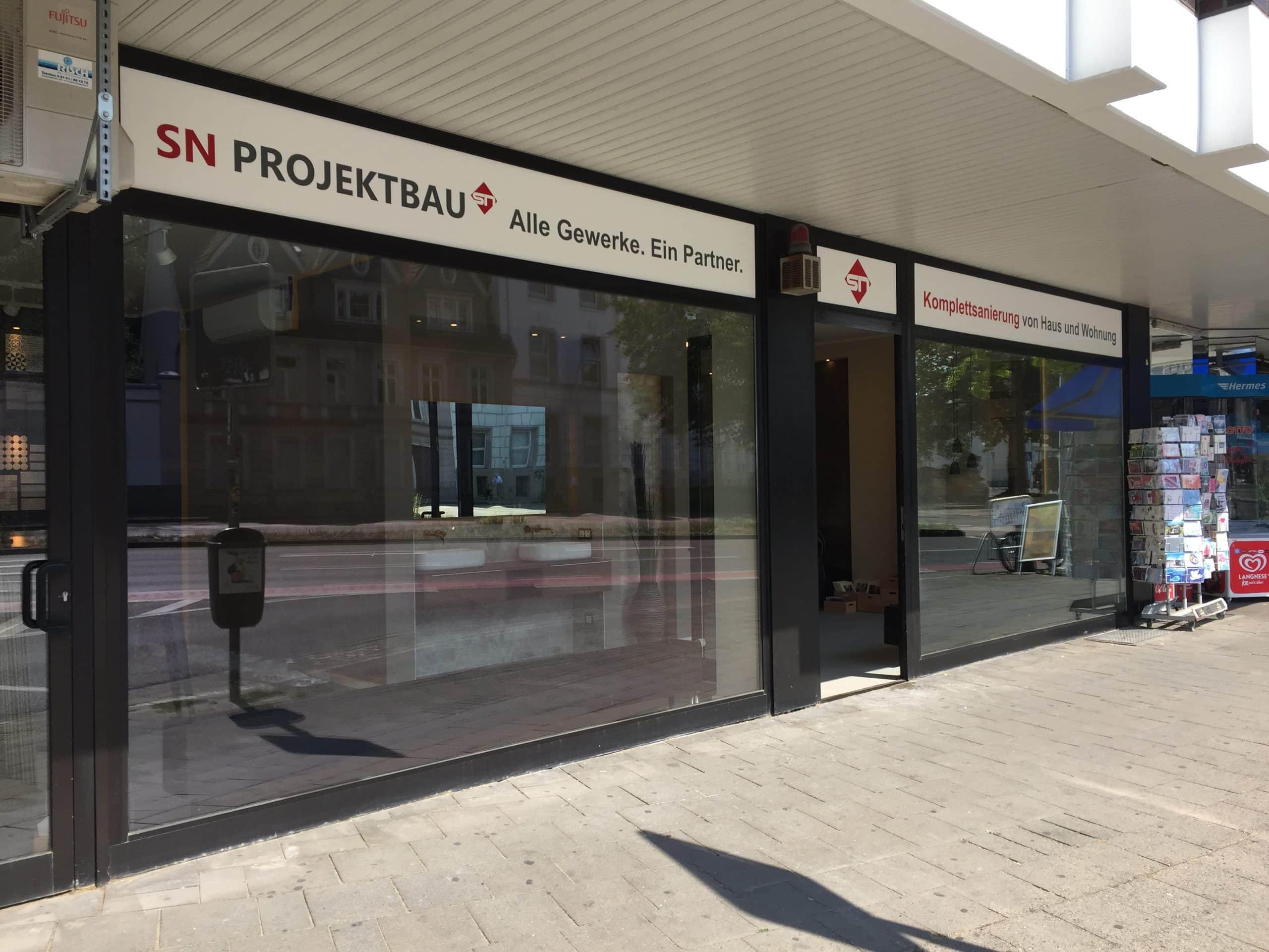 SN Projektbau Showroom